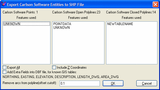Export SHP File