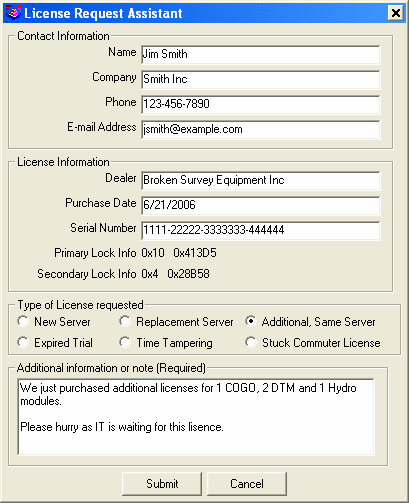 Setting up License Server and Requesting A Network License