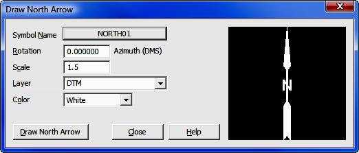 12 01 - Insert North Arrow
