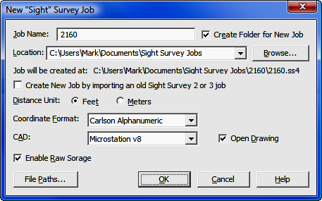 13 03 - Starting a New Job from a Raw File in the Data Collector